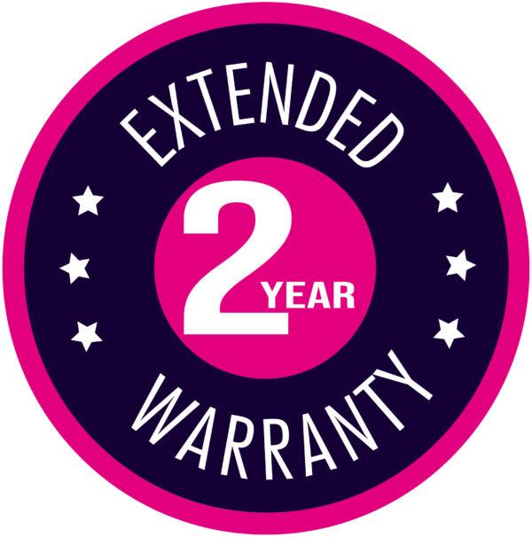 Extended 2 year warranty
